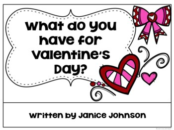 What do you have for Valentine's Day? ~Reader & Build-a-Book