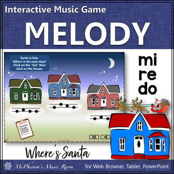 Do-Re-Mi Where's Santa?  Interactive Melody Game