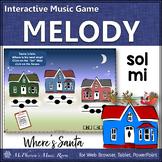 Solfege   Christmas Music   Sol Mi Interactive Melody Game {Where's Santa}