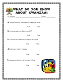 What do you know about kwanzaa?