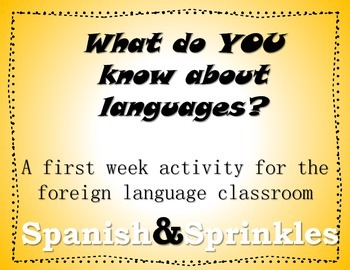 What do you know about languages?