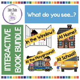 What do you see...? Interactive Book BUNDLE - Vocabulary &