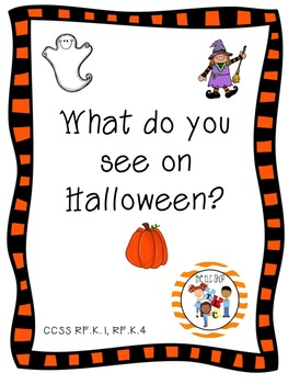 What do you see on Halloween? Emergent Reader