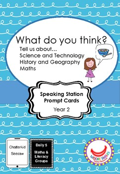 What do you think? Speaking Prompts
