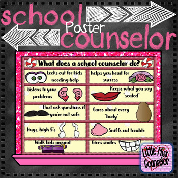 What does a School Counselor Do? Potato Poster