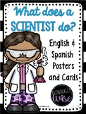 What does a Scientist do? English & Spanish