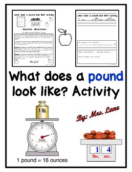 What does a pound look like? Activity