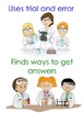 What does a scientist do?  Posters