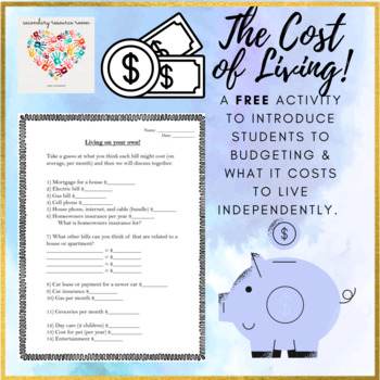 What does it cost to live?