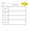 What does it look like? Coins Worksheet