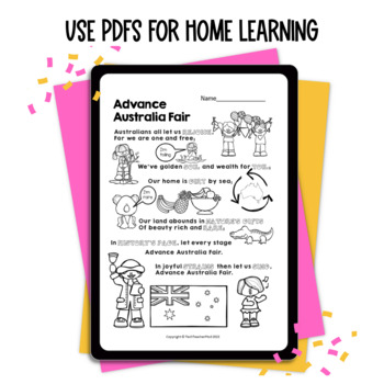 Australia Day Activities What does it mean to be Australian? Mem Fox