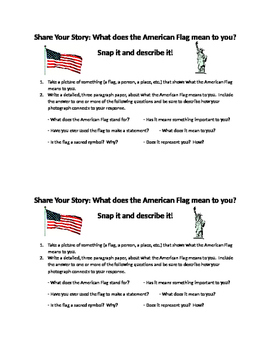 Citizenship and Patriotism: What does the American Flag Mean to Me?