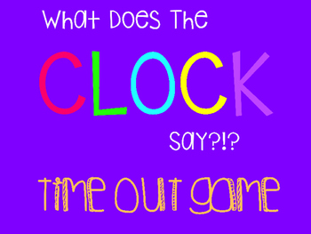 To The Hour Clock Out Knock Out Game
