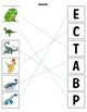 What does the dinosaur's name start with?