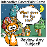 Review Game for any Subject - Smartboard Game - PowerPoint Game