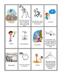 What does this scientist study? - Matching Game