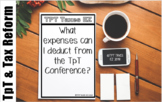 What expenses can I deduct from the TpT Conference?