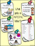What gets a CAPITAL letter? ~ Chart