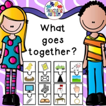 What goes together? Activity Pack