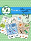 What goes together? SEASONS edition