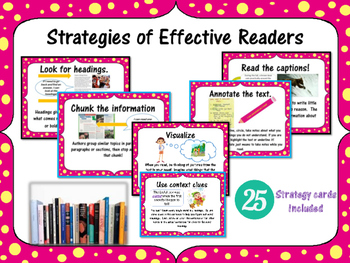 What good readers do?  Strategies for Effective Readers