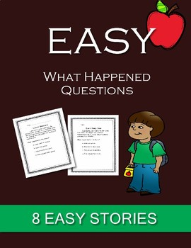 EASY What happened Questions