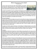 What happened in Chernobyl - Reading Comprehension Text #G