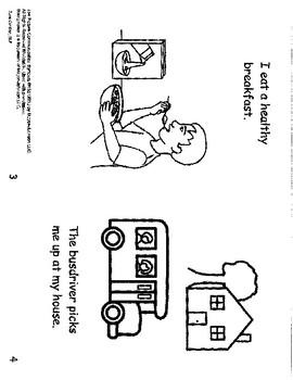 What happens When School Starts? mini book