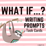 What if?... Creative Writing Journal Prompts