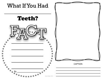 What If You Had Animal Teeth & Animal Research BUNDLE