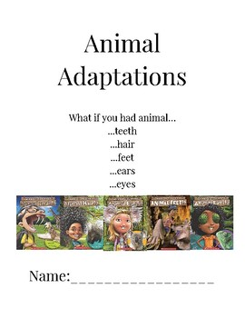 What if you had Animal (teeth, hair, feet, ears, eyes) Activity Packet