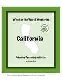 California:  What in the World Mysteries