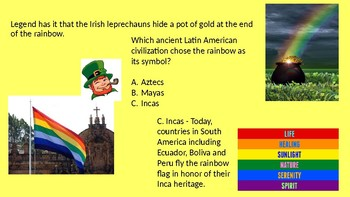 What in the world is IRISH about SPANISH?