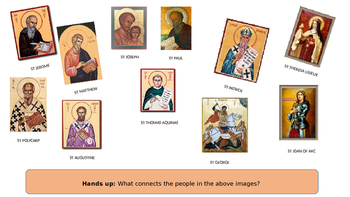 What is A Saint - Christian Lesson