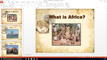 World History - What is Africa?  ** EPIC ** Interactive Po