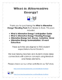 What is Alternative Energy? Reading Pack