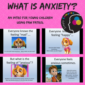 What is Anxiety? An Intro to Basic Concepts of Anxiety for Younger Children