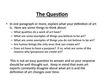 What is Art? (PDF)