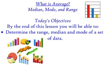 What is Average? Lesson 1 - Median, Mode, and Range