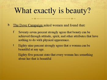 """What is Beauty?"" Powerpoint"