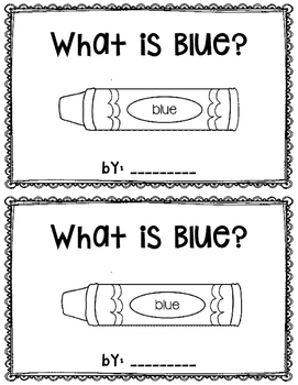 What is Blue?  reader