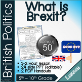 What is Brexit ? Lesson pack