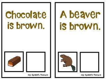 """""""What is Brown?"""" An Adapted Interactive Book for Emergent Readers"""