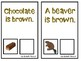 """""""What is Brown?"""" An Adapted Book About Colors"""