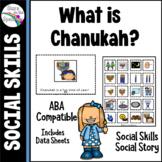 Chanukah Social Story and Social Skills Autism