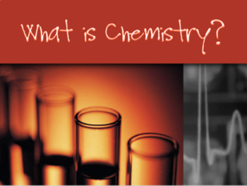 What is Chemistry - Matter
