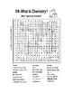 What is Chemistry? Word Search on topics in Chemistry