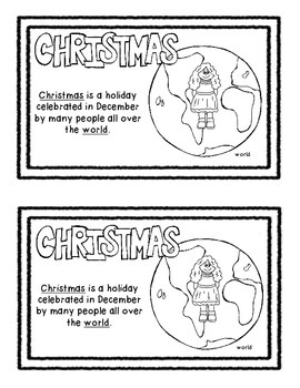 What is Christmas Mini Book