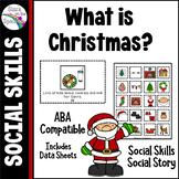Christmas Social Story Social Skills Autism