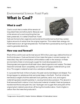 What is Coal?